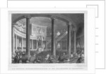 Illustration of Parliament in Franfurt by Corbis
