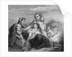 Charity Aiding Mother and Children by Corbis
