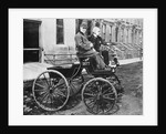 George Selden and Henry Ford in New Selden Automobile by Corbis