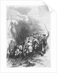 19th Century Troops Hauling a Cannon by Corbis