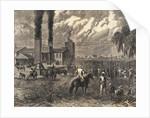 Plantation Workers Harvesting Sugar by Corbis