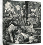 Soldiers Destroying Printing Presses by Corbis