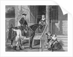 George Washington at Home with Family by Corbis