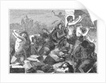 Lysander Demolishing Walls of Athens by Corbis