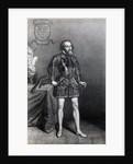 Illustration of Conquistador Cortez by Corbis