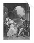 Man and Woman Concentrating on Game of Draughts by Corbis