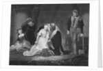 Engraving After The Execution of Lady Jane Grey by Paul Delaroche