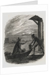 Guy Fawkes and Catesby Exporting Gun Powder Under Moonlight by Corbis