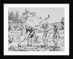 Serfs Toiling in the Field by Corbis