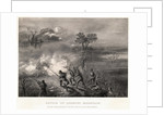 Civil War Scene at Battle of Lookout Mountain by Corbis