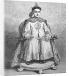 Drawing of Chinese Emperor Tsaichun or Tungchih by Corbis