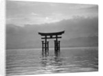 View of Torii in the Sea by Corbis
