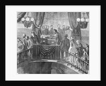 Drawing of Abraham Lincoln Funeral by Corbis