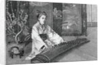 Engraving of Koto Player by Corbis