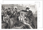 Illustration of Train Robbery in Progress by Corbis
