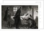 Men Visiting Sick Woman by Corbis