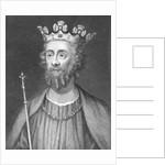 Portrait of King Edward II of England by Corbis