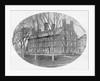 Exterior of Early Massachusetts Hall at Harvard University by Corbis