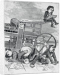 Cartoon Entitled The Power of the Press by Corbis