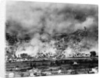 Allied Bombing on German Controled Town by Corbis