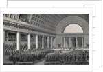 Illus/Natl Assembly At Versailles by Corbis