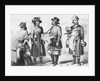 Engraving of Russian Merchants by Corbis