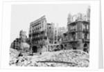 Destroyed Kaiserhof Hotel by Corbis