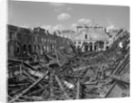 Bombed-out Train Station, Berlin by Corbis