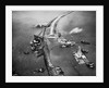 Aerial View of Ships Building a Dyke by Corbis