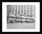 Fiat Cars Being Delivered to Dealers by Corbis