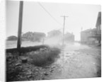 Flood Waters Rushing Houses by Corbis