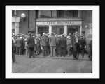 Depositors Waiting for Bank to Open by Corbis