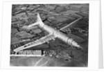 Bristol Brabazon Aircraft in Flight by Corbis