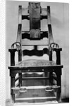 View of Empty Electric Chair by Corbis
