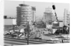 Cars Driving on Hollywood Street by Corbis