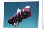 A Floating Crane Lifting a Bathyscaph by Corbis