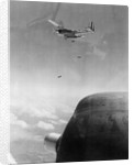 B-26 Bomber Dropping Bombs by Corbis