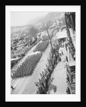 Aerial View of a Military Parade by Corbis