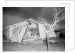 A House Damaged by a Tornado by Corbis