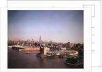 Wharf near Lower Manhattan by Corbis