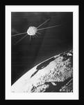 Artist's Conception of Satellite by Corbis