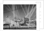 Lights Beaming in Sky for Film Opening by Corbis