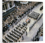 Sir Winston Churchill Funeral Procession by Corbis