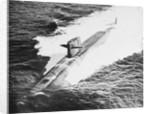 Nuclear Submarine USS Sam Rayburn in the Ocean by Corbis