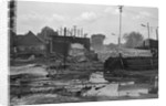 Destroyed Headquarters of Indonesian Communist Party by Corbis