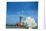 Gemini 6 Launch Attempt by Corbis