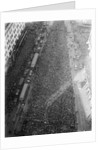Crowd at Time Square for 1921 World Series by Corbis