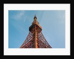View of Tokyo Tower Located in Center of City by Corbis