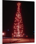 View of Christmas Tree Made of Metal Pipes by Corbis