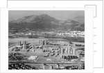 Olympic Lodgings Below Mountains by Corbis